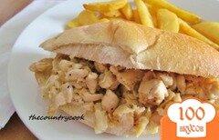 Фото рецепта: «Сэндвич с курицей»