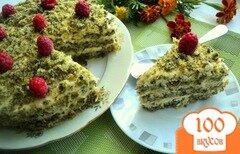 Фото рецепта: «Торт «Лесной мох»»