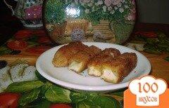 Фото рецепта: «Жареный твердый сыр»