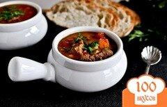 Фото рецепта: «Говяжий суп с перловой крупой»