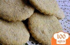 Фото рецепта: «Постное печенье с маком»