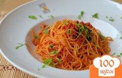 Фото рецепта: «Спагетти с тунцом»