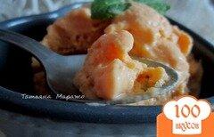 Фото рецепта: «Крем-глясе с манго и йогуртом»