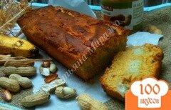 Фото рецепта: «Арахисовый кекс с бананами»