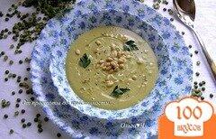 Фото рецепта: «Крем-суп из зеленого гороха»