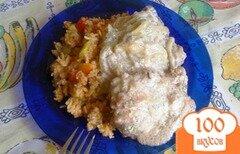 Фото рецепта: «Говяжья печень с луковым соусом»