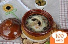 Фото рецепта: «Рисовая запеканка с грибами по-европейски»