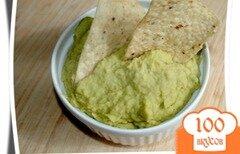 Фото рецепта: «Хуммус с авокадо»