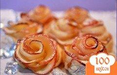 Фото рецепта: «Яблочные розы»