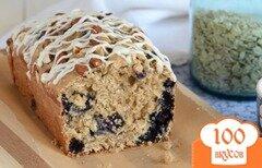 Фото рецепта: «Овсяной хлеб с черникой»
