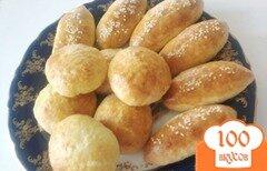 """Фото рецепта: «Турецкие несладкие булочки к завтраку """"Поача""""»"""