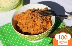 Фото рецепта: «Айнтопф с капустой и фаршем»