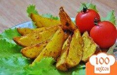 Фото рецепта: «Картошка по-селянски в мультиварке»