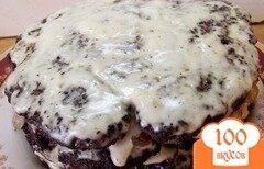 Фото рецепта: «Торт печеночный сытный»