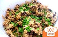 Фото рецепта: «Рис с черной фасолью»
