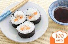 Фото рецепта: «Роллы с консервированным тунцом»