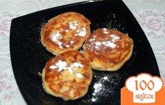 Фото рецепта: «Сырники с медом и орехами»