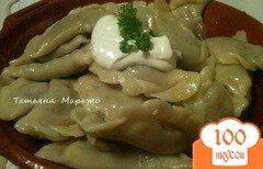 Фото рецепта: «Вареники с мясом и картофелем»