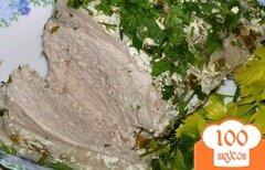 Фото рецепта: «Запеченная свинина в ароматном маринаде + бонус: соус!»
