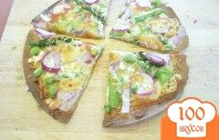 Фото рецепта: «Вегетарианская пицца»