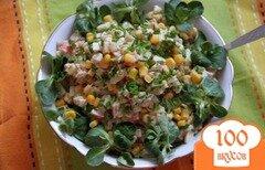 Фото рецепта: «Салат из крабовых палочек, но по-новому...»