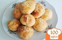 Фото рецепта: «Нежные творожные булочки к завтраку (без дрожжей!)»