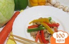 Фото рецепта: «Спагетти с соевым соусом»
