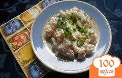 Фото рецепта: «Рисовый салат с крабовым мясом»