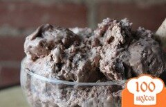 Фото рецепта: «Шоколадно-солодовое мороженое»