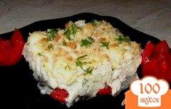 Фото рецепта: «Гратен с цветной капустой и грибами»