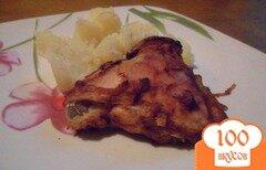 Фото рецепта: «Курица с томатом, запечёная в рукаве.»