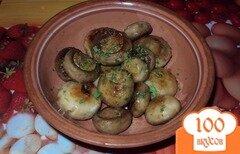 Фото рецепта: «Грибы с чесноком»
