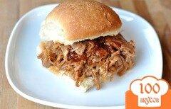 Фото рецепта: «Тушеная свинина для сэндвичей»