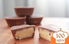 Фото рецепта: «Шоколадно-арахисовые конфеты»