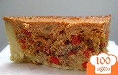 Фото рецепта: «Пирог с мясом в мультиварке»