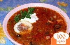 Фото рецепта: «Рыбный суп с оливками»