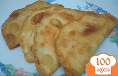Фото рецепта: «Чебуреки (тесто в хлебопечке)»