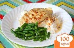 Фото рецепта: «Куриное филе в миндальном соусе»