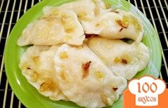 Фото рецепта: «Вареники картофельные с луком»