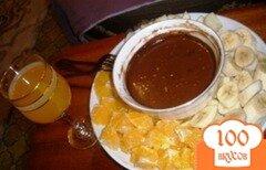 Фото рецепта: «Шоколадное фондю с коньяком»