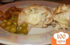 Фото рецепта: «Куриные котлеты с начинкой из сыра»