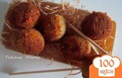 Фото рецепта: «Закусочные шарики из гороха нут»