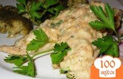 Фото рецепта: «Рыба на пару под горчичным соусом»