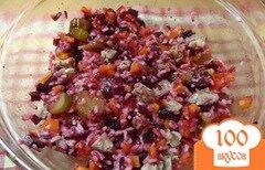 Фото рецепта: «Домашний праздничный салат с говядиной»