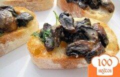 Фото рецепта: «Тосты с грибами»