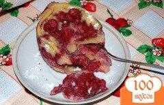 Фото рецепта: «Ягодное клафутти из микроволновки»