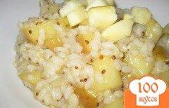 Фото рецепта: «Ризотто с яблоком и горчицей»