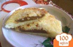 Фото рецепта: «Ванильные сырники с вареной сгущенкой»
