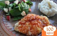 Фото рецепта: «Куриные грудки под остро-сладким соусом»