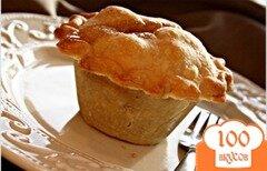 Фото рецепта: «Мини яблочный пирог»